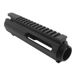 AR-15 Circle Slick Side Upper Receiver - Forged M4 Flat Top (Multi Cal)
