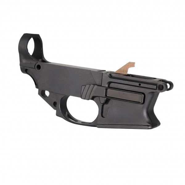AR 9MM Black  Anodized 80% Billet Lower Receiver (Made in USA)