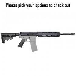 "AR15 .223 5.56 NATO 16"" Rifle Kit w/ Free Float Quad Rail incl (Option Available)"