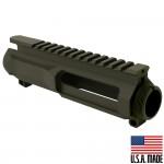 AR-15 Billet Upper Receiver Cerakote - OD Green (Made in USA)