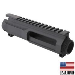 AR-15 Billet Upper Receiver Cerakote - Sniper Grey (Made in USA)