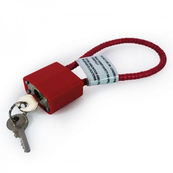 """DAC Cable Gun Lock 15"""""""