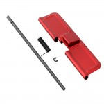 AR-15 Standard Charging Handle with Forward Assist and Ejection Cover Door Combo - RED