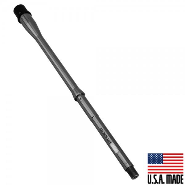 "5.56 NATO 16"" Rifle Barrel 1:7 Twist  - Stainless ""Lightweight"" Black (Made in USA)"