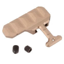 AR-15 Extended Bolt Catch Release - Gold