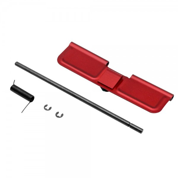 AR-15 Dust Cover Complete Assembly - Red