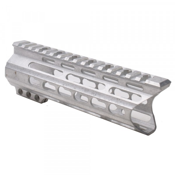 "AR-15 7"" Custom Made In USA Slim Keymod Handguard with ""C"" Cut -RAW (MADE IN USA)"