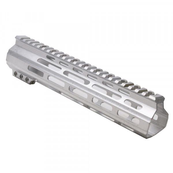 "AR-15 MLOK 10"" Free Float Handguard  with ""D"" Cut-Raw"