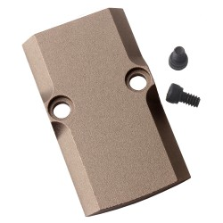 Glock RMR Cover Plate for Glock 17/19/26 - TAN
