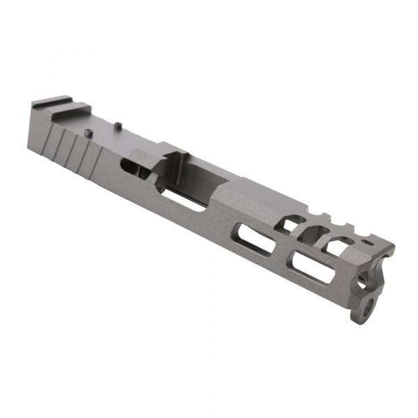 Glock 19 Custom Slides with Trijicon RMR cut out - GREY