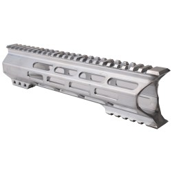 "AR-15 M-Lok 10"" Super Slim Light Free Float Handguard ""C"" Cut - RAW (Made In USA)"