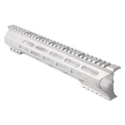 "AR-15 M-Lok 12"" Super Slim Light Free Float Handguard ""C"" Cut - RAW (Made In USA)"