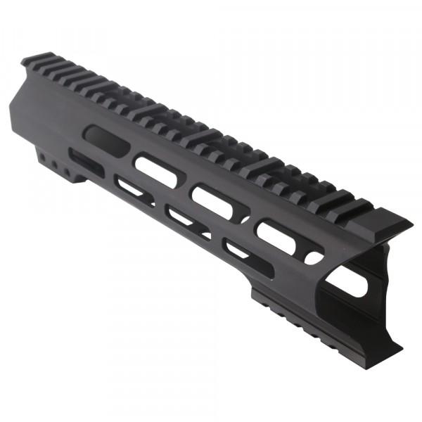 "AR-15 M-Lok 10"" Super Slim Light Free Float Handguard ""C"" Cut - Black (Made In USA)"
