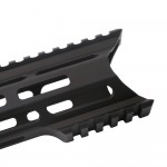 "AR-15 M-Lok 7"" Super Slim Light Free Float Handguard ""C"" Cut - Black (Made In USA)"