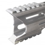 "AR-15 M-Lok 7"" Super Slim Hybrid Free Float Handguard ""C"" Cut - RAW"