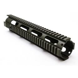 "AR-15 12"" Rifle Full Length Free Float Handguard Cerakote - OD"