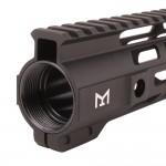 "AR-15 15"" Combat M-Lok Handguard - Black"