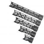 "AR-15 M-Lok Handguard Combat Modular  ""C"" Cut - Black (OPTIONS AVAILABLE)"