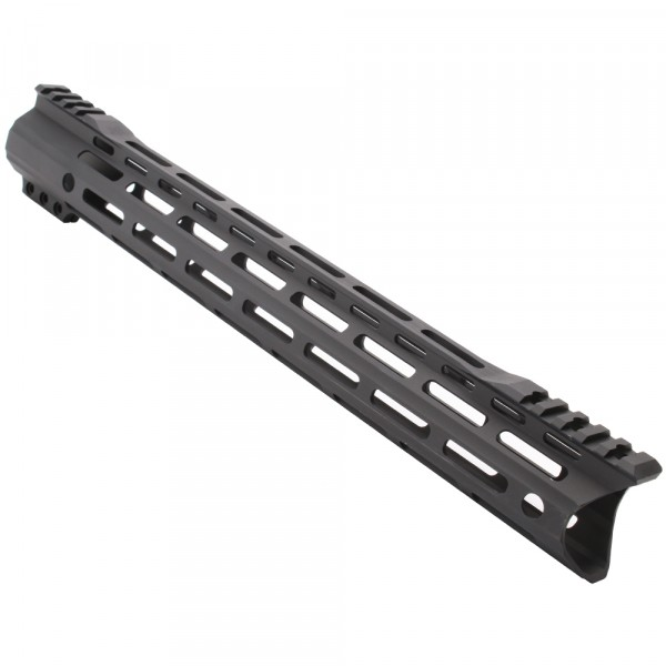 "AR-15 MLOK 15"" Free Float Handguard with ""C"" Hybrid Cut  (Made In USA)"