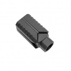 Steel Muzzle Diverter 5/8x24