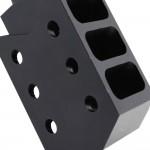 "Barrett Style ""Tanker"" AR15 Muzzle Brake - Black"