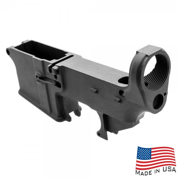 AR-15 Lower Receiver 80% Completed Anodized - Made in USA