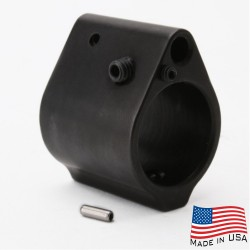.750  Low Profile Adjustable Gas Block - Set Screw Style (MADE IN USA)