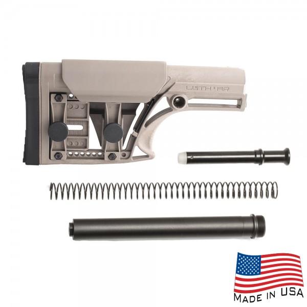 MBA-1 FDE Rifle Buttstock Buffer Tube Kit for AR-10 .308