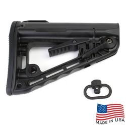 AR Rifle Rogers Super-Stoc Deluxe Buttstock w/QD Sling Swivel