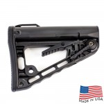 AR Rifle Rogers Super-Stoc Deluxe Buttstock w/Built-in QD Base (Made in USA)