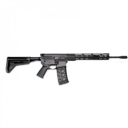 "AR15 16"" RIFLE BUILD KIT W/12"" HYBRID HANDGUARD 80% LOWER BCG LPK MAGPUL GRIP & STOCK - NO BCG (ASSEMBLED UPPER)"