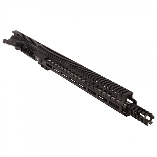 "AR15 5.56 NATO 16"" STAINLESS ""PENCIL"" MID LENGTH 1:7 TWIST W/15"" M-LOK HANDGUARD - UPPER ASSEMBLY"