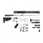 "AR15 .223 5.56 NATO 18"" STAINLESS BARREL RIFLE KIT W/15"" MODULAR M-LOK HANDGUARD"