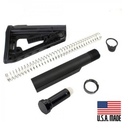 AR-10/LR-308 Mil-Spec Buffer Tube Assembly w/ Rogers Super-Stoc Deluxe