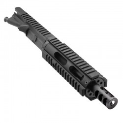 "AR15 5.56 NATO 7.5'' PISTOL LENGTH 1:7 TWIST W/ 7"" FREE FLOAT QUAD RAIL HANDGUARD - UPPER ASSEMBLY"