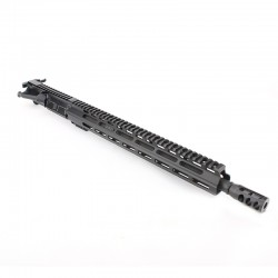 "AR .300 Blackout 16"" Rifle Barrel with 15"" M-Lok Custom USA Made Handguard Upper Build"
