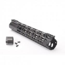 "AR-10 .308 Custom USA Made  M-Lok Super Slim Light 12"" Free Float Handguard w/Steel Barrel Nut (MADE IN USA)"