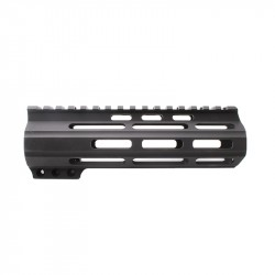 "AR15 7"" Custom Made In USA Super Slim Light Keymod Free Float Handguard -BLACK (MADE IN USA)"