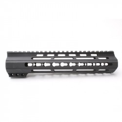 "AR-15 10"" Custom Made In USA  Slim Keymod Handguard (MADE IN USA)"