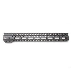 "AR-15 M-LOK 15"" Super Slim Free Float Handguard with 2"" & 3"" M-LOK Rails (Package)"