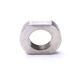 AR-15 Steel 1/2x28 Threaded Stainless Muzzle Brake Jam Nut