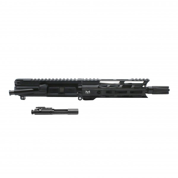 "AR15 5.56 NATO 7.5"" PISTOL LENGTH 1:7 TWIST W/ 7"" M-LOK HANDGUARD USA MADE - COMPLETE UPPER"