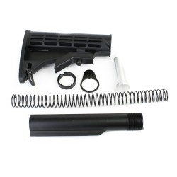 AR-15 Mil-Spec 6-Position Collapsible Stock Kit