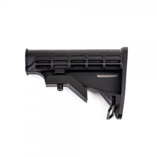 AR-15 Mil-Spec 6-Position Collapsible Buttstock