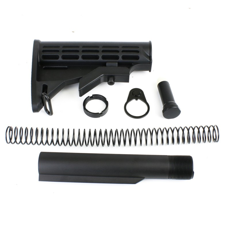 AR-10  308 Mil-Spec 6-Position Collapsible Stock Kit