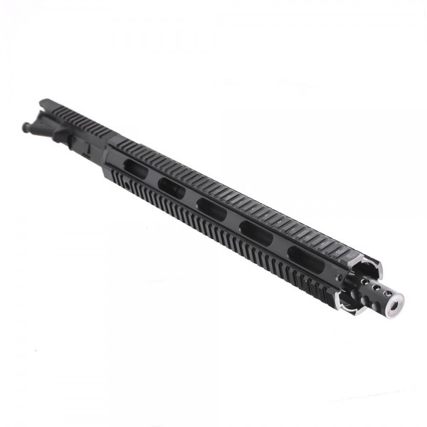 "AR .300 Blackout 16"" Pistol Length Barrel, 16"" Free Float Quad Rail, Complete Upper (BR3168-P, 223UP, ARFA, DC223, GTP, MBR38, TL308, GB01-B, FAR16)"