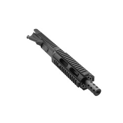 "5.56 NATO 7.5"" Pistol Length Barrel, 7"" Quad Rail, Complete Upper (BRPIS-N, ARFA, DC223, GTP, MBR37, GB01-B, FAR07, FEC)"