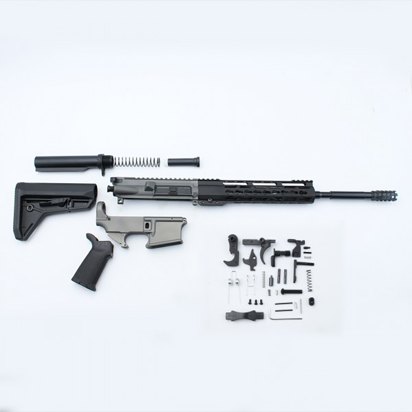 AR-15 Rifle Build Kit with Custom Made in USA Complete Upper Build with  Magpul Kits, USA Made 10