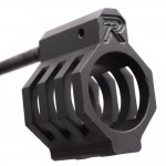 ".750 Low Profile Micro ""CAGED"" Gas Block (USA) and Pistol Length Gas Tube - Assembled"