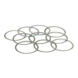 AR-15 Barrel Nut Washers / Shims 0.32mm - Stainless Steel-10 pcs